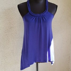 Violet & Claire Royal Purple Tank